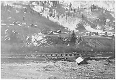 Flood damage to RGS trackage at Winkfield.<br /> RGS  Winkfield, CO  ca 1930