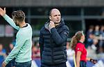 AMSTELVEEN  - assistent coach Hans Hekman (Laren) , hoofdklasse hockeywedstrijd dames Pinole-Laren (1-3). COPYRIGHT  KOEN SUYK
