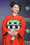 """Japanese actress Mika Mifune attends a press conference to unveil the """"Tokyo Comic Con 2016"""" in Tokyo, Japan, on December 4, 2015. The inaugural Tokyo Comic Con will take place at the Mukahari Messe Convention Center from December 3-4, 2016. (Photo by AFLO)"""
