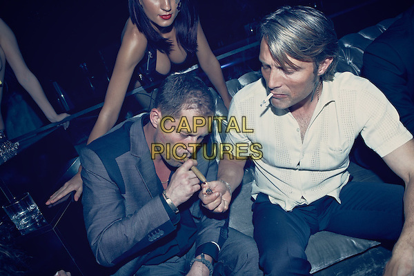 Til Schweiger, Mads Mikkelsen<br /> in Charlie Countryman (2013) <br /> *Filmstill - Editorial Use Only*<br /> CAP/FB<br /> Image supplied by Capital Pictures