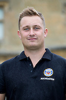 Joe Aygul poses for a portrait at a Bath Rugby photocall. Bath Rugby Media Day on August 28, 2014 at Farleigh House in Bath, England. Photo by: Rogan Thomson for Onside Images
