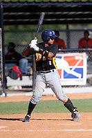 Wander Cabrera participates in the Dominican Prospect League 2014 Louisville Slugger Tournament at the New York Yankees academy in Boca Chica, Dominican Republic on January 20-21, 2014 (Bill Mitchell)