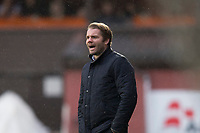 16th November 2019; Tannadice Park, Dundee, Scotland; Scottish Championship Football, Dundee United versus Queen of the South; Dundee United manager Robbie Neilson  - Editorial Use