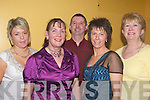 FESTIVAL: Stepping it out at the Shindig Festival Ceili Dance on Friday night in the Brandon Hotel, Tralee were l-r: Sarah Goulding (Gneeveguilla), Mary O'Mahony (Headford), Michael Daly (Firies), Noreen Goulding (Gneeveguilla) and Eileen Daly (Firies).   Copyright Kerry's Eye 2008