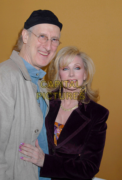 "JAMES CROMWELL & MORGAN FAIRCHILD.The Screen Actors Guild Foundation and Zimand Entertainment host prize-winning ceremony for Los Angeles Children's ""Love Equals"" writing contest held at the Beverly Center, 8th Floor Food Court, ,Los Angeles, USA, 14 February 2007..half length.CAP/ADM/GB.©Gary Boas/AdMedia/Capital Pictures."