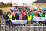 The Start of the Johnny Giles Walk of Dreams which started at Mounthawk soccer pitch on Sunday.
