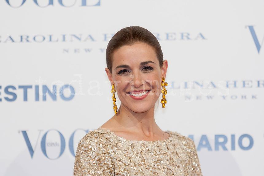Raquel Sanchez Silva at Vogue December Issue Mario Testino Party