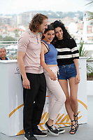 Metin Akdulger, Manal Issa and Mariah Tannoury<br /> My Favourite Fabric Photocall<br /> Cannes Film Festival, France - 12th May 2018 <br /> CAP/GOL<br /> &copy;GOL/Capital Pictures