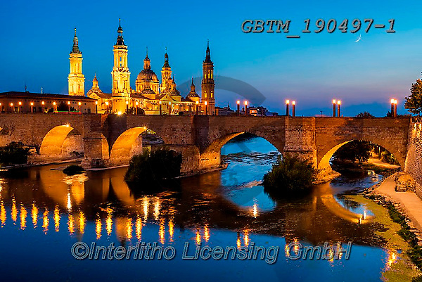 Tom Mackie, LANDSCAPES, LANDSCHAFTEN, PAISAJES, photos,+Aragon, Espana, Europa, Europe, European, River Ebro, Spain, Spanish, Tom Mackie, Zaragoza, architectural, architecture, baro+que, basilica, bridge, bridges, cathedral, cities, city, city break, destination, destinations, heritage, historic, horizonta+l, horizontals, night time, nightscene, pillar, reflect, reflecting, reflection, reflections, river, roman, time of day, tour+ism, tourist attraction, tower, towers, travel, urban, water,Aragon, Espana, Europa, Europe, European, River Ebro, Spain, Spa+,GBTM190497-1,#l#, EVERYDAY