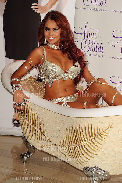 Amy Childs launches her new jewellery range for Mikey London, at the Millennium Hotel, London 24/10/2012 Picture by: Steve Vas / Featureflash