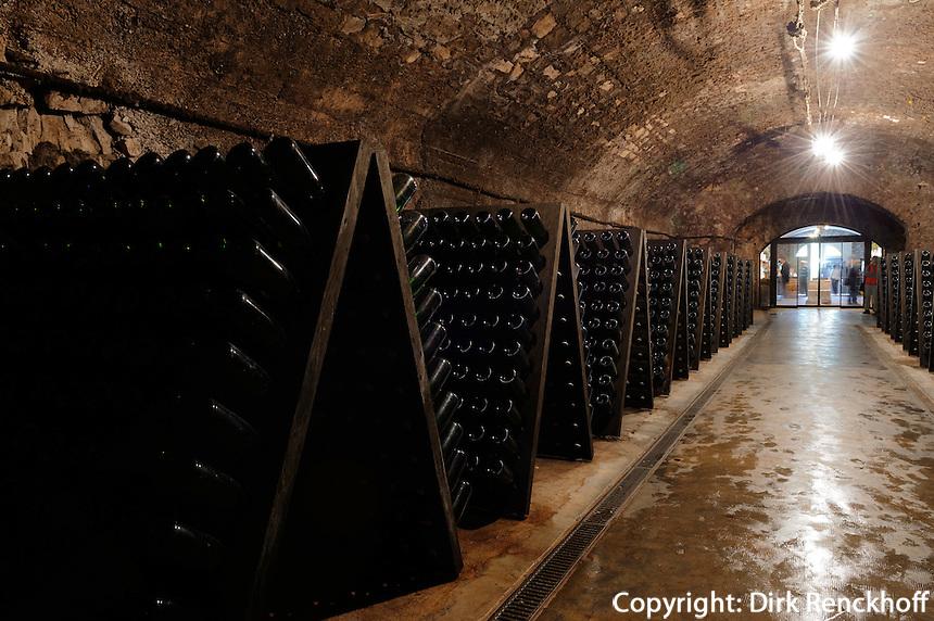Felsengalerie im Weinkeller Restaurant und Cave St.Martin in Remich, Luxemburg