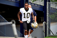 Wednesday August 10, 2016: New Orleans Saints wide receiver Brandin Cooks (10) walks to the practice field at a joint training camp practice between New England Patriots and  the New Orleans Saints  training camp held Gillette Stadium in Foxborough Massachusetts. Eric Canha/CSM
