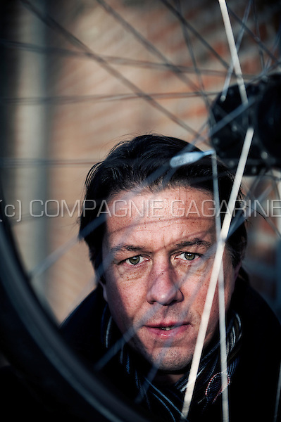 Former Belgian bicycle racer Mario De Clercq (Belgium, 17/01/2012)
