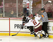 Laurie Jolin (Brown - 28), Kristin Regan (BC - 6), Tim Kerrigan, - The Boston College Eagles defeated the visiting Brown University Bears 5-2 on Sunday, October 24, 2010, at Conte Forum in Chestnut Hill, Massachusetts.
