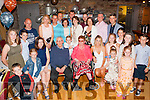 Mighty Eighty<br /> ------------------<br /> Sean Murphy,Castlemaine (seated centre) had a marvellous night celebrating his 80th birthday last Saturday night in the Anvil bar Boolteens along with all his family