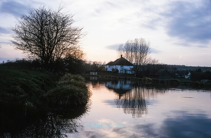 """The River Kennet sustained one of Britain's worst ever incidents of river poisoning which killed more than three million fish.<br /> Scientists from the Agency say carryed out door-to-door enquiries at farms and businesses around the village of Little Bedwyn, Wiltshire, <br /> It is thought contaminants entered the river near the village and spread downriver to the Berkshire Trout Farm, near Hungerford, wiping out its entire stock of more than 150 tonnes of trout .<br /> The Environment Agency's area manager Stu Darby said: """"This is one of the largest incidents of its type in the region to date"""