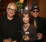 Ken Fallin, Gretchen Cryer and Stanley Steinberg attends the DGF Salon with Kyle Jarrow on November  1, 2018 at The Uterbetg Residence in New York City.