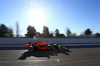 28th February 2020; Circuit De Barcelona Catalunya, Barcelona, Catalonia, Spain; Formula 1 Pre season Testing Week Two, Day 3; Aston Martin Red Bull Racing, Alexander Albon