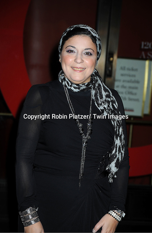 honoree Esra Abdel Fattah attends  the 21st Annual Glamour Magazine Women of the Year Awards on November 7, 2011 at Carnegie Hall in New York City.