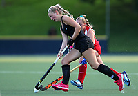 Katie Doar. Blacksticks Women's training game v Chile ahead of the 2019 FIH International Pro League Tournament, Grammar Hockey Turf, Auckland, New Zealand. Monday 17  December 2018. Photo: Simon Watts/Hockey NZ
