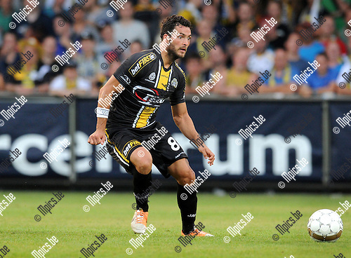 2014-07-26 / Voetbal / seizoen 2014-2015 / KVC Westerlo - Sporting Lokeren / Koen Persoons<br /><br />Foto: mpics.be
