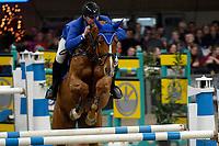 ZUIDBROEK - Paardensport, ICCH Zuidbroek, springen internationaal Grote Prijs , 05-01-2019, Sander Geerink met Donner Ik