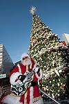Rockin' Santa at Universal CityWalk in Los Angeles, CA