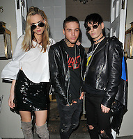 Andreja Pejic ( far left ) and guests at the JF London private dinner, Beach Blanket Babylon, Ledbury Road, London, England, UK, on Thursday 29 September 2016.<br /> CAP/CAN<br /> &copy;CAN/Capital Pictures /MediaPunch ***NORTH AND SOUTH AMERICAS ONLY***