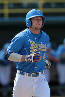 Eric Filia-Snyder #4 of the UCLA Bruins during a game against the Washington State Cougars at Jackie Robinson Stadium on March 24, 2012 in Los Angeles,California. UCLA defeated Washington 12-3.(Larry Goren/Four Seam Images)