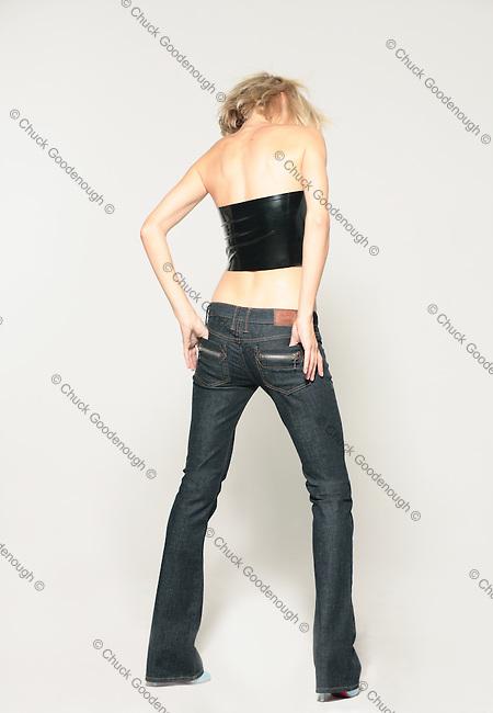 Frankie B Fashion Shoot with Model Eugenia