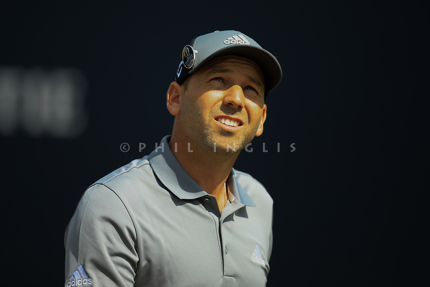 Sergio Garcia (ESP) during the first round of the 147th Open Championship played at Carnoustie Links, Angus, Scotland. 19/07/2018<br /> Picture: Golffile | Phil Inglis<br /> <br /> All photo usage must carry mandatory copyright credit ©Phil INGLIS)