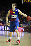 Xavi Rabaseda. FC Barcelona Regal vs Fenerbahce Ulker: 100-78 - Top 16 - Game 1.