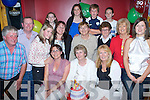 Happy Birthday - Joan Lawlor from Ardfert, seated centre having a wonderful time with family and friends at her 50th birthday party held in McElligot's Bar, Ardfert on Friday night... ............   Copyright Kerry's Eye 2008
