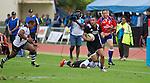 Matt Proctor. Maori All Blacks vs. Fiji. Suva. MAB's won 27-26. July 11, 2015. Photo: Marc Weakley