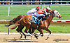 Melody Pomeroy winning at Delaware Park on 5/23/15
