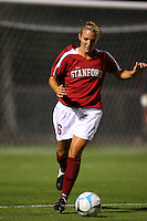 14 September 2007: Stanford Cardinal April Wall during Stanford's 3-2 win in the Stanford Invitational against the Missouri Tigers at Maloney Field in Stanford, CA.
