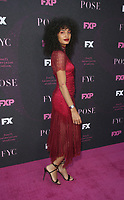 "WEST HOLLYWOOD, CA - AUGUST 9: Indya Moore, at Red Carpet Event For FX's ""Pose"" at Pacific Design Center in West Hollywood, California on August 9, 2019. <br /> CAP/MPIFS<br /> ©MPIFS/Capital Pictures"
