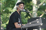 Gil Scott-Heron Performs at Gil Scott-Heron & Special Guests Presented in Association With Jill Newman Productions-Central Park Summer Stage, New York 6/27/10