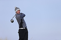 William Russell (Clandeboye) during the first round of matchplay at the 2018 West of Ireland, in Co Sligo Golf Club, Rosses Point, Sligo, Co Sligo, Ireland. 01/04/2018.<br /> Picture: Golffile | Fran Caffrey<br /> <br /> <br /> All photo usage must carry mandatory copyright credit (&copy; Golffile | Fran Caffrey)