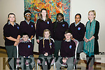 Kerry Education and Training Board and co-hosted by Kerry Music Education Partnership A Kerry students 1916 commemoration event in The Rose Hotel on Tuesday front l-r Daniel Burke, Melanie Smith, Gavin Mulvihill, Back l-r Holly Twoey, Carole Adado, Jazmin Griffin, Mistura Oyebanji, Sahra hassan and Teacher Maryann Lowney from Coláiste Gleann Lí