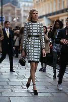 Elena Perminova at Paris Fashion Week (Photo by Hunter Abrams/Guest of a Guest)