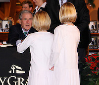 George W. Bush Book Signing At Billy Graham Library By Jonathan Green <br /> Charlotte North Carolina USA