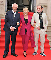 Jonathan Pryce, Glenn Close &amp; Bjorn Runge at the &quot;The Wife&quot; Film4 Summer Screen opening gala &amp; launch party, Somerset House, The Strand, London, England, UK, on Thursday 09 August 2018.<br /> CAP/CAN<br /> &copy;CAN/Capital Pictures