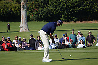 Matt Kuchar (USA) In action during the third round of the The Genesis Invitational, Riviera Country Club, Pacific Palisades, Los Angeles, USA. 14/02/2020<br /> Picture: Golffile | Phil Inglis<br /> <br /> <br /> All photo usage must carry mandatory copyright credit (© Golffile | Phil Inglis)