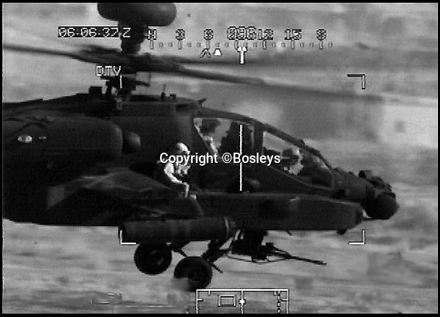 BNPS.co.uk (01202 558833)<br /> Pic: Bosleys/BNPS<br /> <br /> Captain Tom O'Malley flying into the rescue of Lance Corporal Mathew Ford<br /> <br /> A British helicopter pilot who performed one of the most daring rescues of the Afghanistan war is selling his gallantry medal to raise 100,000 pounds.<br /> <br /> Captain Tom O'Malley flew his Apache chopper into a Taliban stronghold with two Royal Marines strapped to the side in a brave bid to save a fatally wounded comrade.<br /> <br /> The pilot flew the gun ship at 60mph and just 20ft above the ground into the heavily defended Talban fort.<br /> <br /> The two marines jumped down and rescued Royal Marine Lance Corporal Mathew Ford. Tragically he could not be saved from his injuries which had been caused by friendly fire.<br /> <br /> Capt O'Malley's Distinguished Flying Cross is being sold by auctioneers Bosleys of Marlow, Bucks, tomorrow (Weds).