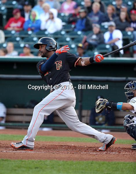 LJ Hoes -2015 Fresno Grizzlies (Bill Mitchell)