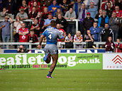 June 4th 2017, AJ Bell Stadium, Salford, Greater Manchester, England;  Rugby Super League Salford Red Devils versus Wakefield Trinity;  Reece Lyne of Wakefield Trinity races through to score the second Wakefield try