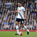 Tottenham's Mousa Dembele in action during the Premier League match at White Hart Lane Stadium.  Photo credit should read: David Klein/Sportimage