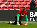 Jamal Blackman of Sheffield Utd warms up during the Championship match at the Riverside Stadium, Middlesbrough. Picture date: August 12th 2017. Picture credit should read: Simon Bellis/Sportimage