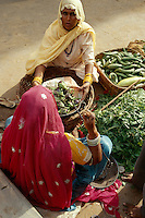 Markt in Jhunjhunu (Rajasthan), Indien